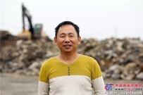"""利刃在手""""钱""""途无忧 采访江西约翰迪尔挖掘机用户郭老板"""