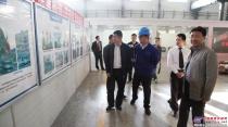 徐州市科技局副局长李亚军一行莅临盾安重工考察调研