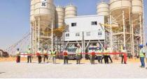 尼罗河畔的中国装备—徐工混凝土机械助力埃及CBD项目
