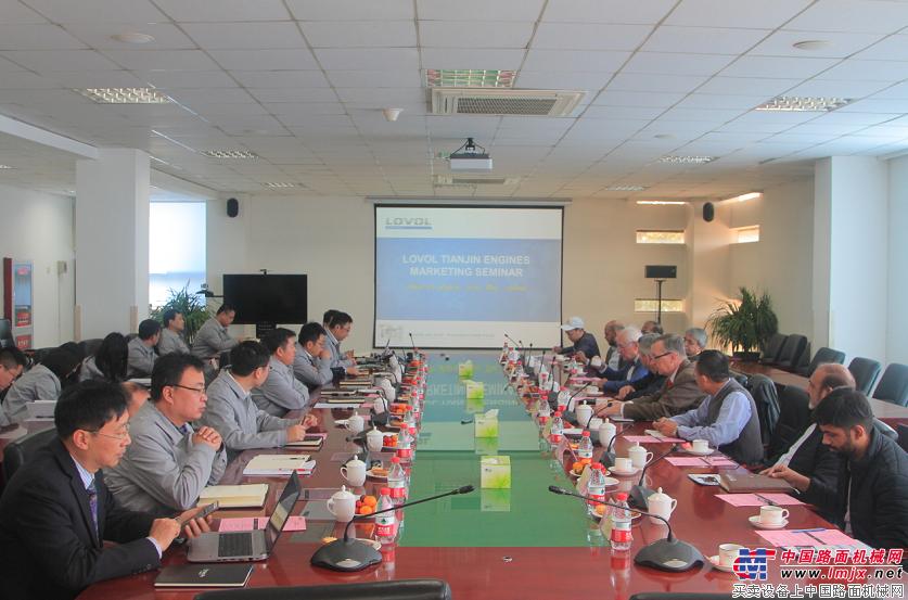 雷沃发动机海外客户参观交流会在津召开
