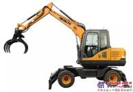 恒特HT85W-Z轮式抓装机新品发布!