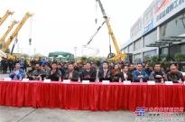 中国有柳工,匠心越甲子|全球首家起重机大型形象店落合肥