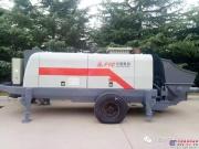 方圆HBTS系列混凝土泵出口埃塞俄比亚