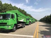 华菱星马:助力中国蓝 60台新型环保渣土车发往江西市场