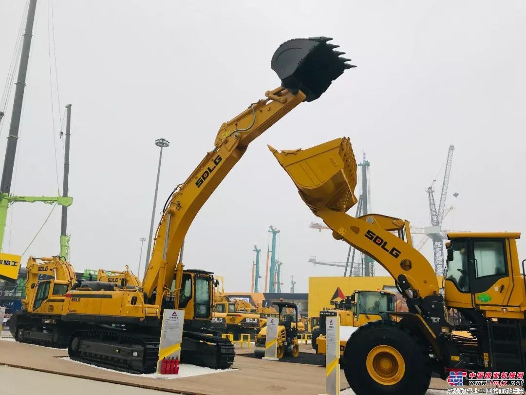【bauma China 2018】山东临工在2018上海宝马展推出纯电动概念小型挖掘机