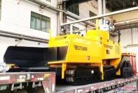 西筑LTU600型沥青混凝土摊铺机助力乌兹别克斯坦道路建设