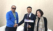 专访陕建机总经理李长安、印度IRC公司董事长SACHIN KAPOOR