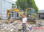 经营挖掘机15年,临工挖掘机用着最顺手