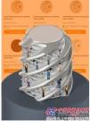 新型 igus 螺母材料在全球最大的丝杠商店发售 由 iglidur J200 制成的免润滑丝杠螺母的使用寿命延长3倍