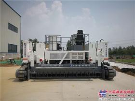 镇江路机滑模式水泥摊铺机助力茶马古道乡村公路建设显神威