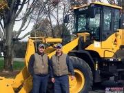 临工装载机用于除雪作业深受美国Omasta Landscaping公司亲睐
