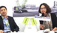 印度宝马展:专访中联重科海外公司总经理助理夏军