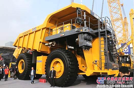 徐工携大型成套矿业装备精彩亮相上海宝马展