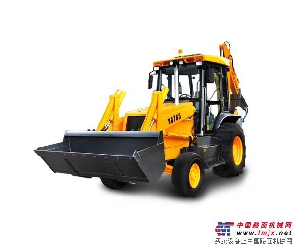 厦工XG765挖掘装载机 高清图