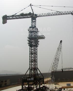 永茂ST80/116塔式起重机高清图 - 外观