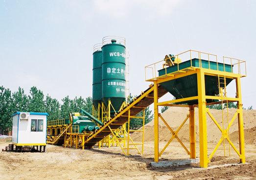 路达WCB500稳定土拌和站