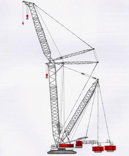 撫挖QUY750 液壓履帶式起重機