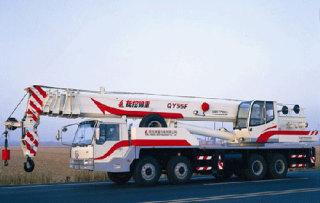 撫挖錦重QY55F 汽車起重機