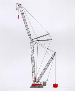 撫挖QUY400A 液壓履帶式起重機