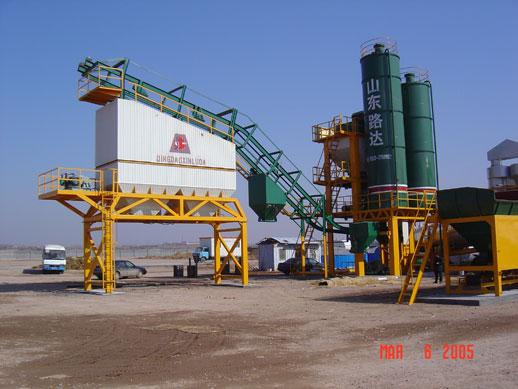 路达QLB2000型强制式沥青混凝土搅拌设备高清图 - 外观