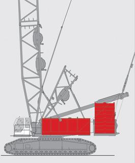 抚挖QUY500 液压履带式起重机