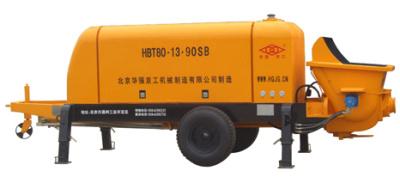 华强京工HBT80.13.90SB拖式电动混凝土输送泵高清图 - 外观