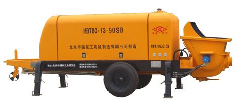 华强京工HBT80.13.90SB拖式电动混凝土输送泵