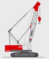 抚挖QUY35 液压履带式起重机履带起重机