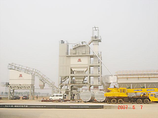 路达HQB5000型系列强制式沥青混凝土搅拌设备高清图 - 外观