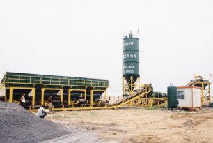 路达WCB400稳定土拌合站