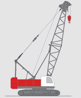 抚挖QUY70 液压履带式起重机履带起重机