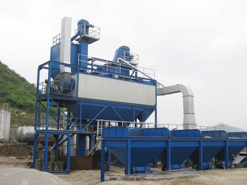 无锡华通J-1000型集装箱式沥青混合料搅拌设备高清图 - 外观