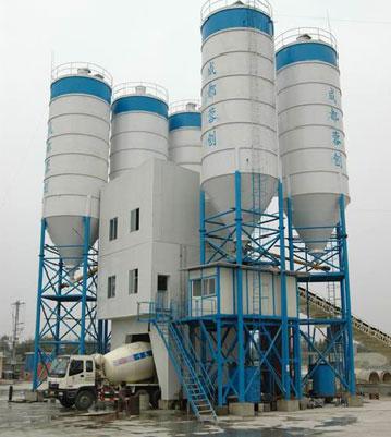 川建HZS120混凝土搅拌站高清图 - 外观