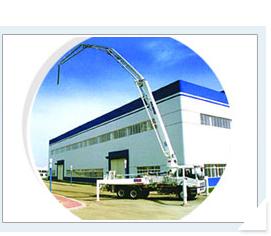 海诺37m臂架式混凝土泵车高清图 - 外观
