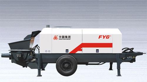方圆FYG5120THB90混凝土车载泵高清图 - 外观