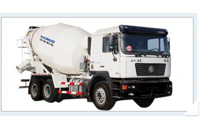 海诺8方HNJ5255GJBB混凝土搅拌运输车高清图 - 外观