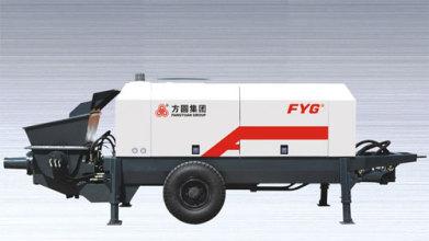 方圆HBTS系列柴油机混凝土拖泵高清图 - 外观