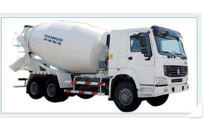 海诺8方HNJ5253GJBA混凝土搅拌运输车高清图 - 外观