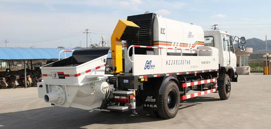 海州HBC80-13-132S混凝土车载泵高清图 - 外观