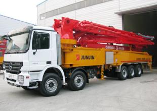 全进JJ-M5717泵车高清图 - 外观
