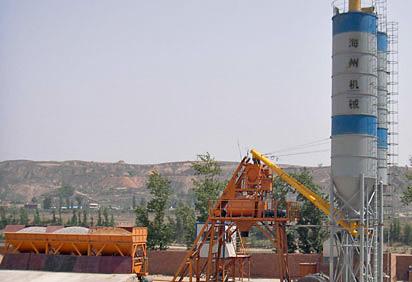 海州HZS75混凝土搅拌站