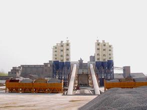 海州HZS120混凝土搅拌站高清图 - 外观