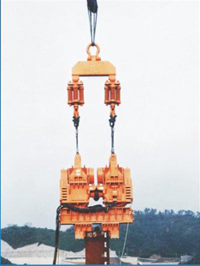 上海振中DZP系列超大型双联振动桩锤高清图 - 外观