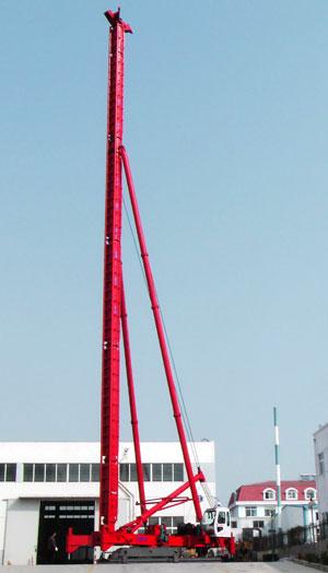 海州JZB50电动步履桩机高清图 - 外观