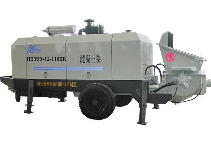 海州HBT50-12-110SR混凝土泵高清图 - 外观