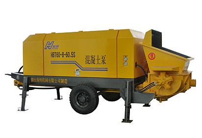 海州HBT60-8-60.5S混凝土泵高清图 - 外观