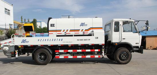 海州HBC80-16-162S混凝土车载泵高清图 - 外观