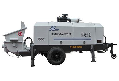 海州HBT80-16-162SR混凝土泵高清图 - 外观