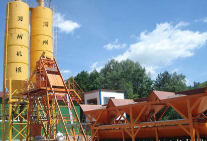 海州HZS35混凝土搅拌站
