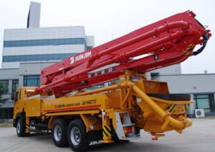 全进JX-M3715泵车高清图 - 外观
